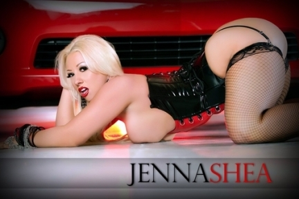 One of Kind! Beautiful Busty Blonde Covergirl Model Jenna Shea